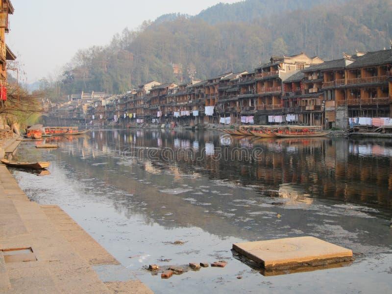 Αρχαία πόλη Fenghuang στοκ εικόνες με δικαίωμα ελεύθερης χρήσης