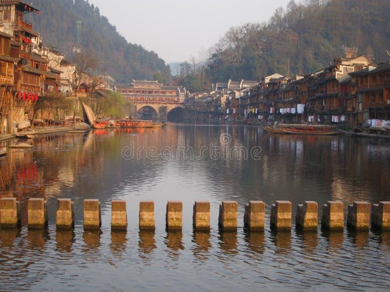 Αρχαία πόλη Fenghuang στοκ εικόνες