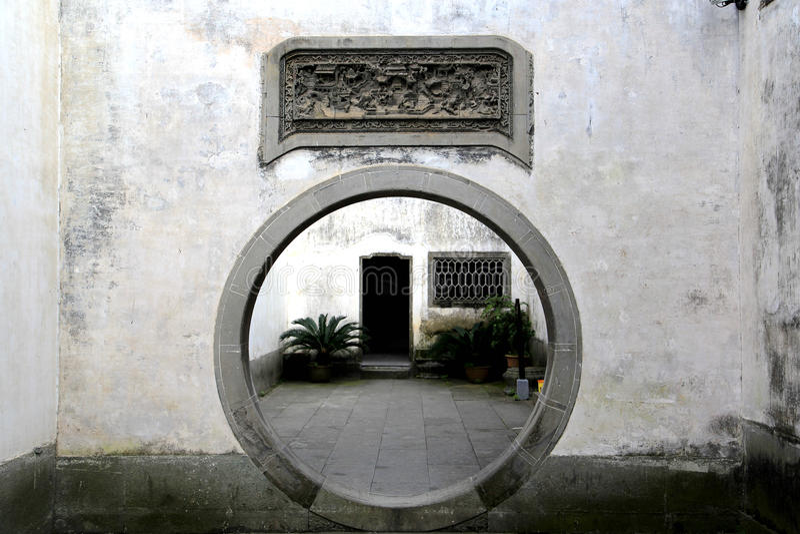 Αρχαία πόλη Huizhou, Anhui, Κίνα στοκ εικόνες με δικαίωμα ελεύθερης χρήσης