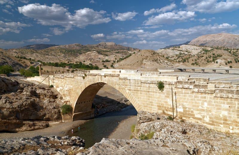 Αρχαία ρωμαϊκή γέφυρα στην Τουρκία στοκ φωτογραφίες