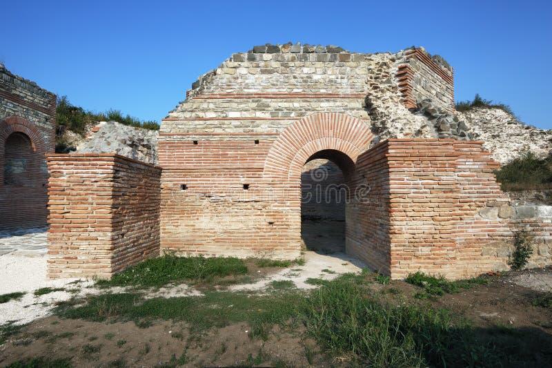 Αρχαία ρωμαϊκή περιοχή Felix Romuliana στοκ εικόνα με δικαίωμα ελεύθερης χρήσης