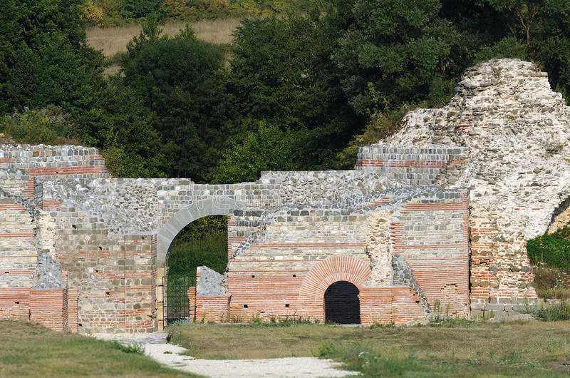 Αρχαία ρωμαϊκή περιοχή Felix Romuliana στοκ εικόνες