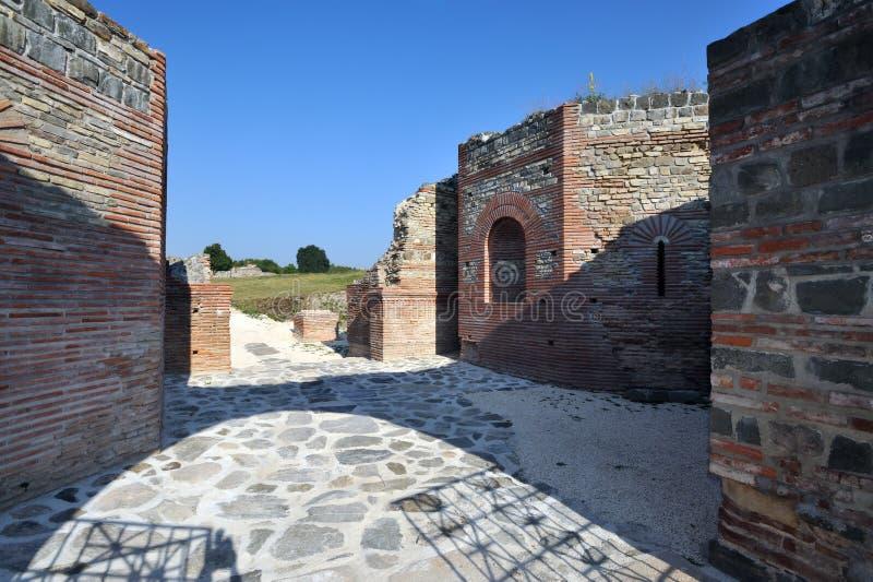 Αρχαία ρωμαϊκή περιοχή Felix Romuliana στοκ φωτογραφία