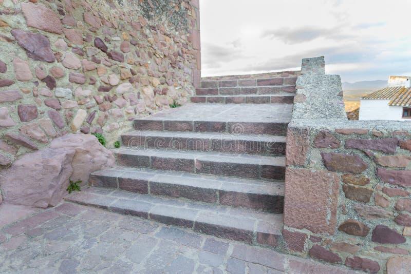 Αρχαία σκαλοπάτια στοκ εικόνα με δικαίωμα ελεύθερης χρήσης
