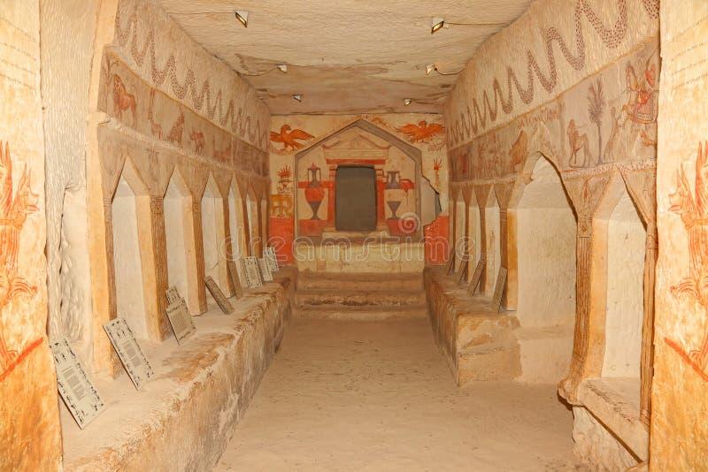 Αρχαία σπηλιά ενταφιασμών στοκ φωτογραφίες