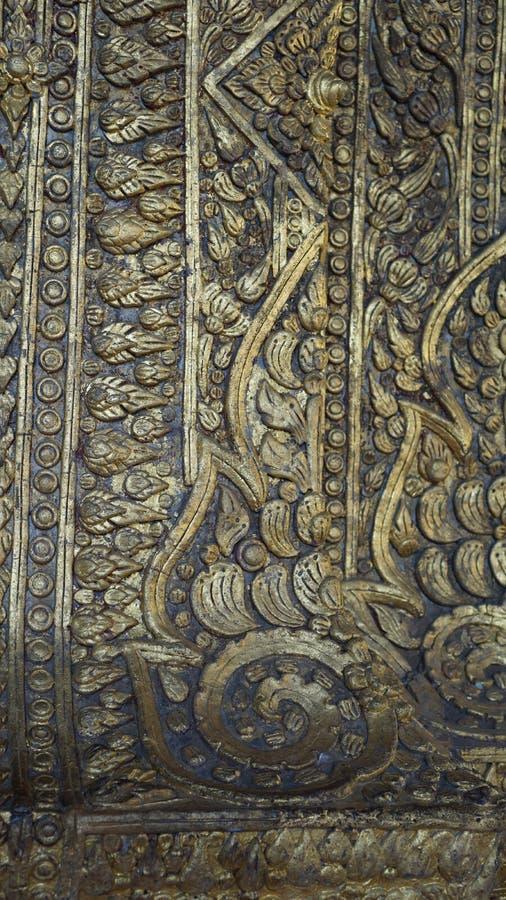 Αρχαία ταϊλανδική τέχνη, ζωγραφική στοκ εικόνες με δικαίωμα ελεύθερης χρήσης