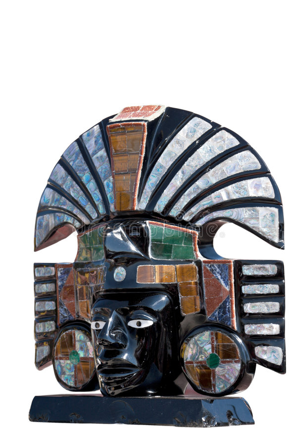αρχαία των Αζτέκων θεότητα αποτυχιών στοκ εικόνα