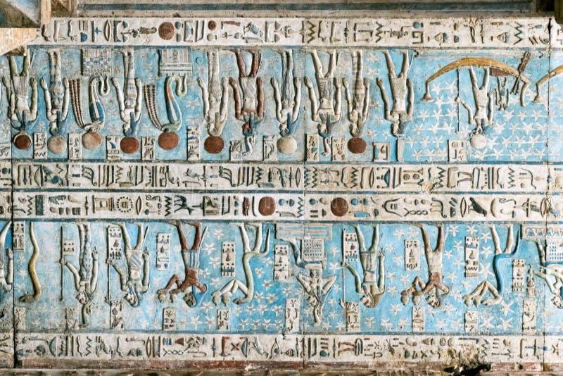 Αρχαία χρωματισμένη νωπογραφία στοκ φωτογραφία με δικαίωμα ελεύθερης χρήσης