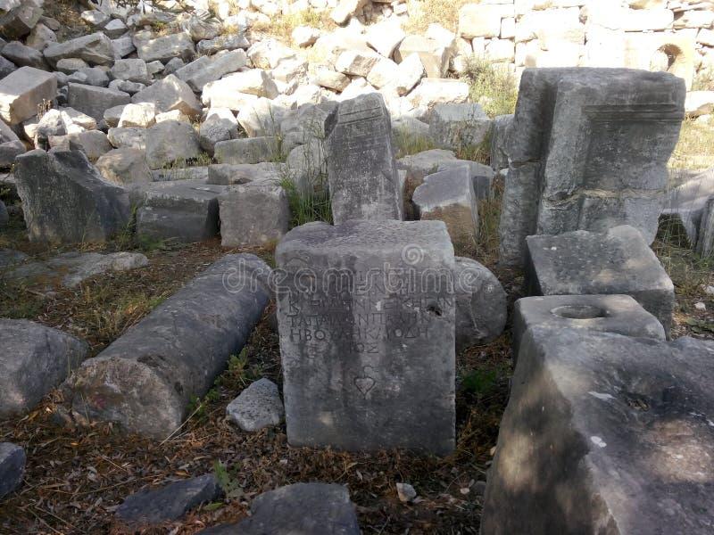 αρχαίες γραφές στοκ εικόνες
