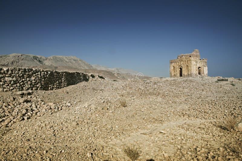 αρχαίες 13ες καταστροφές αιώνα του μουσουλμανικού τεμένους που χτίζεται από Bibi Maryam, που βρίσκεται στη μιά φορά αναπτυγμένος  στοκ εικόνα με δικαίωμα ελεύθερης χρήσης
