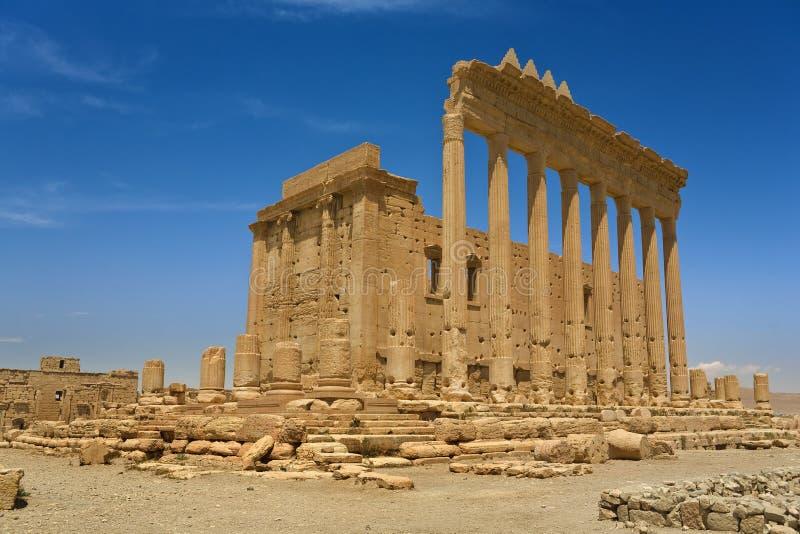 αρχαίες καταστροφές palmyra στοκ φωτογραφία με δικαίωμα ελεύθερης χρήσης