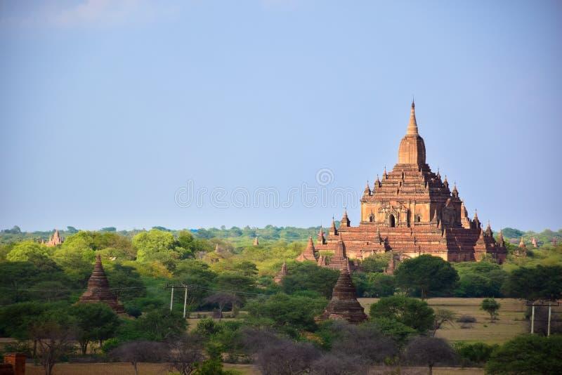 Αρχαίες παγόδες σε Bagan, το Μιανμάρ στοκ εικόνα με δικαίωμα ελεύθερης χρήσης