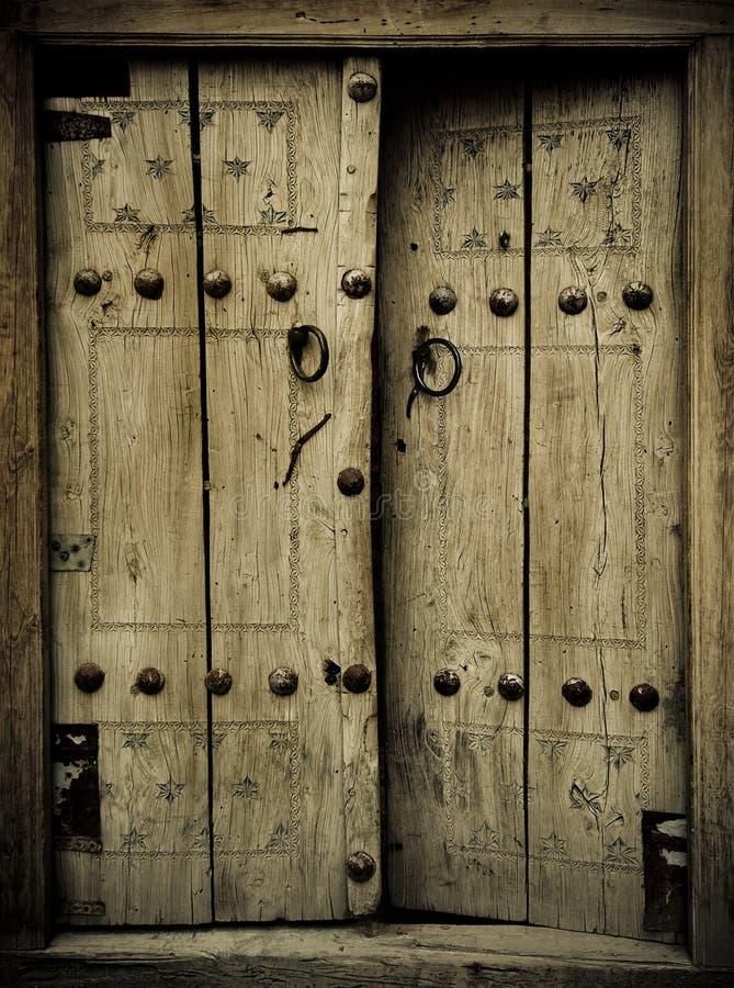 Αρχαίες πόρτες στοκ φωτογραφία