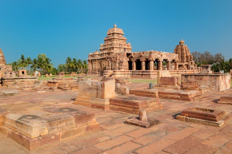 αρχαίες pattadakal καταστροφές τ&eta στοκ φωτογραφίες