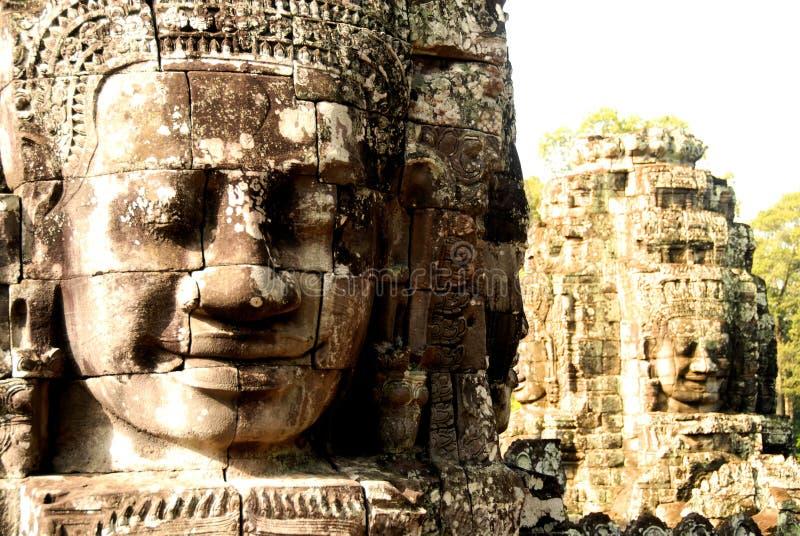 αρχαίοι Θεοί s της Καμπότζη&s στοκ φωτογραφία με δικαίωμα ελεύθερης χρήσης