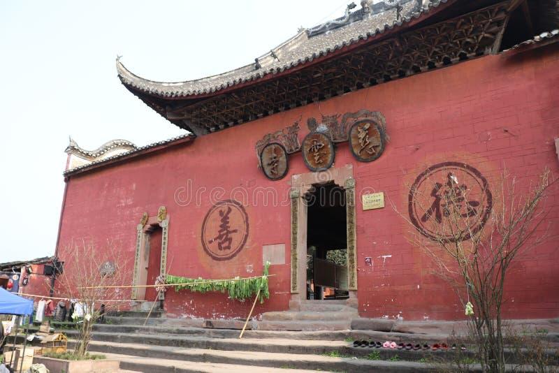 Αρχαίοι κινεζικοί ναοί στοκ φωτογραφίες