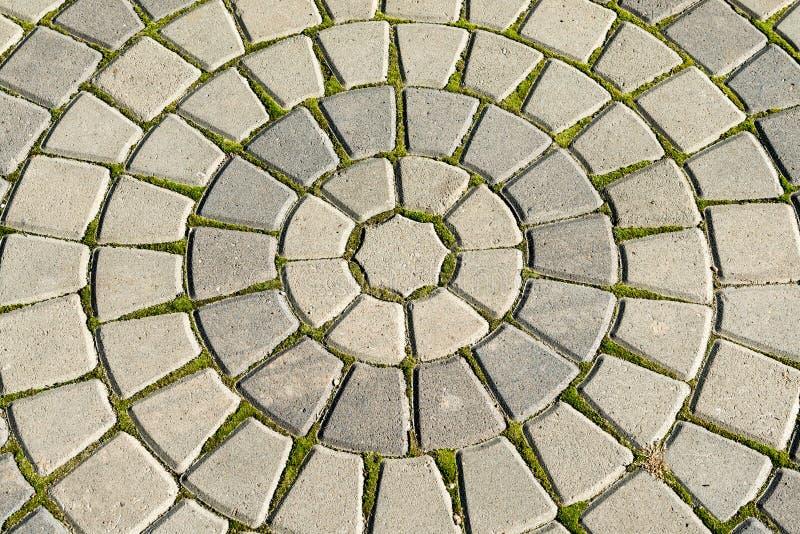 Αρχαίοι ομόκεντροι κύκλοι στοκ εικόνες