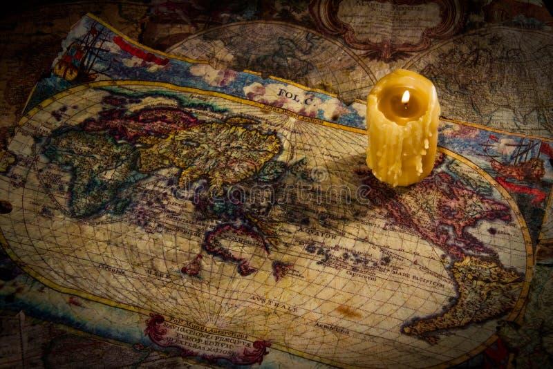 αρχαίοι χάρτες στοκ εικόνες με δικαίωμα ελεύθερης χρήσης