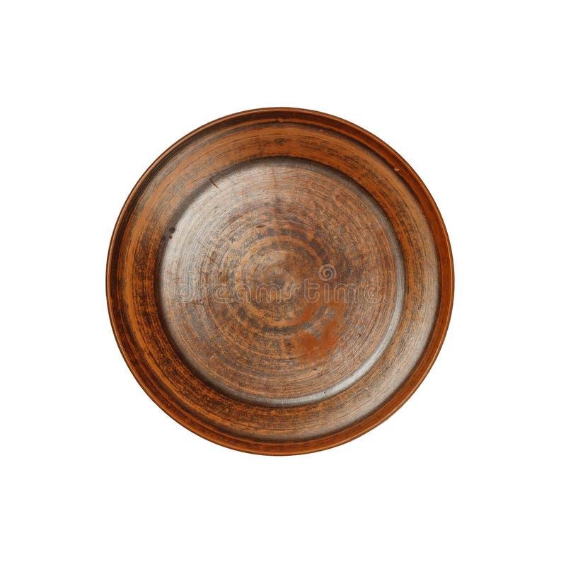 Αρχαίος, άργιλος, πιάτο, παλαιός, κεραμικό, πιάτο, κύπελλο, άργιλος, αγγειοπλάστης στοκ εικόνες