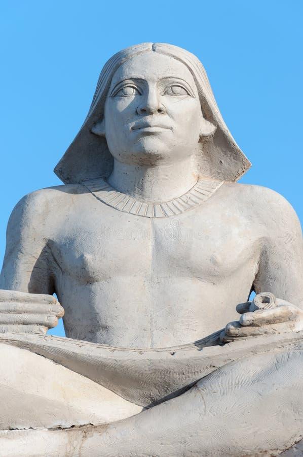 Αρχαίος αιγυπτιακός γραφέας στοκ φωτογραφία με δικαίωμα ελεύθερης χρήσης