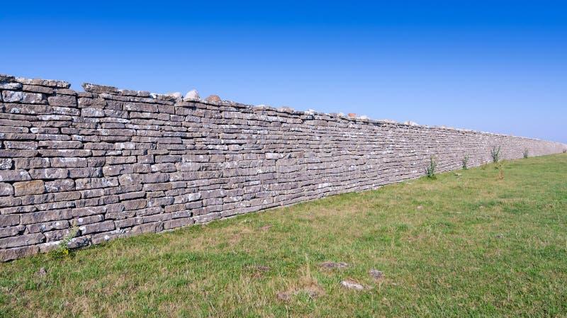 Αρχαίος αμυντικός τοίχος στοκ εικόνες