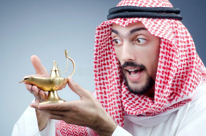 αρχαίος αραβικός λαμπτήρας στοκ φωτογραφία με δικαίωμα ελεύθερης χρήσης