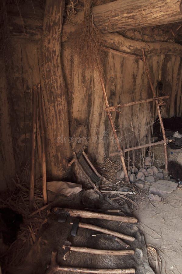 Αρχαίος αργαλειός της ηλικίας χαλκού στοκ φωτογραφία