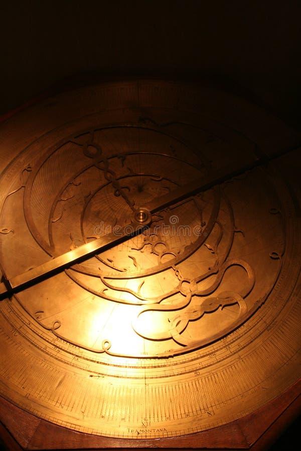 αρχαίος αστρολάβος στοκ φωτογραφίες