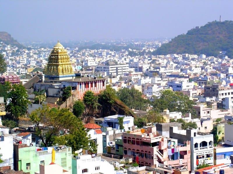 αρχαίος ινδικός ναός πόλε&ome στοκ φωτογραφία με δικαίωμα ελεύθερης χρήσης