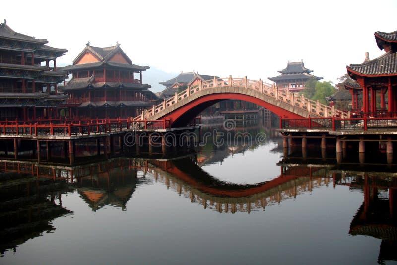 αρχαίος κινεζικός κήπος στοκ φωτογραφία με δικαίωμα ελεύθερης χρήσης