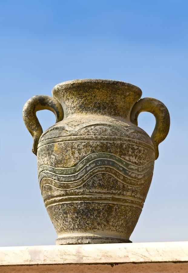 αρχαίος κρατήρας ελληνι& στοκ εικόνα