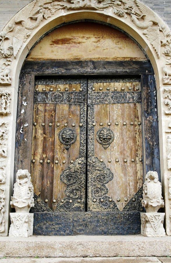 αρχαίος ναός πορτών στοκ φωτογραφία με δικαίωμα ελεύθερης χρήσης