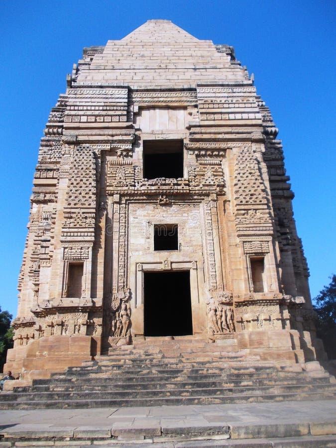 Αρχαίος ναός σε Gwalior/την Ινδία στοκ φωτογραφίες με δικαίωμα ελεύθερης χρήσης