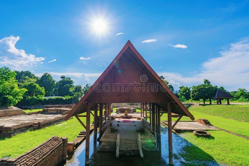 Αρχαίος ναός Kam Wiang στοκ φωτογραφία
