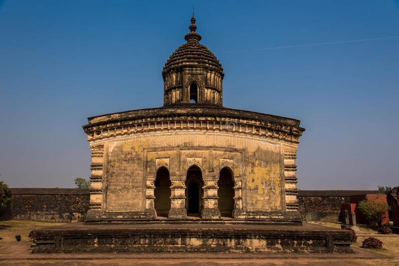 Αρχαίος ναός Lalji σε Bishnupur στοκ εικόνες με δικαίωμα ελεύθερης χρήσης