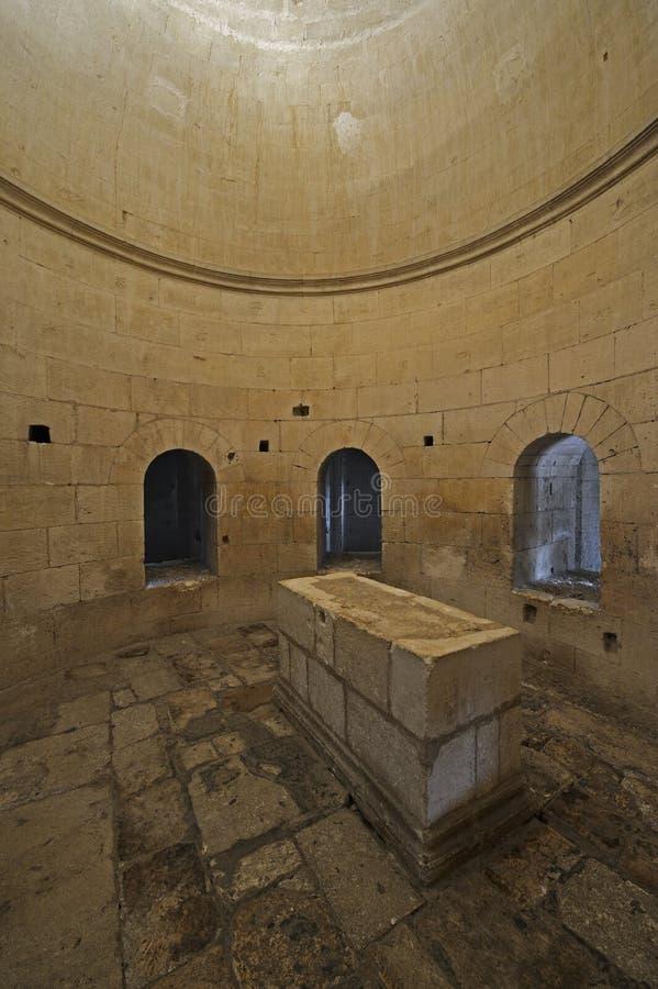 αρχαίος νότος της Γαλλίας αβαείων montmajour στοκ φωτογραφίες με δικαίωμα ελεύθερης χρήσης