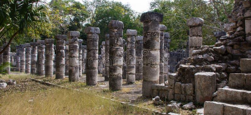 αρχαίος οι καταστροφές itza στοκ εικόνα με δικαίωμα ελεύθερης χρήσης