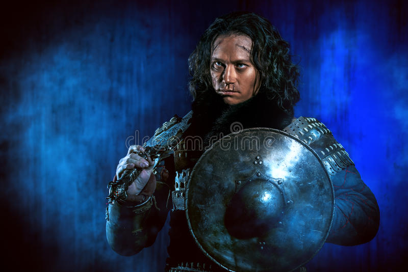 αρχαίος πολεμιστής στοκ εικόνα