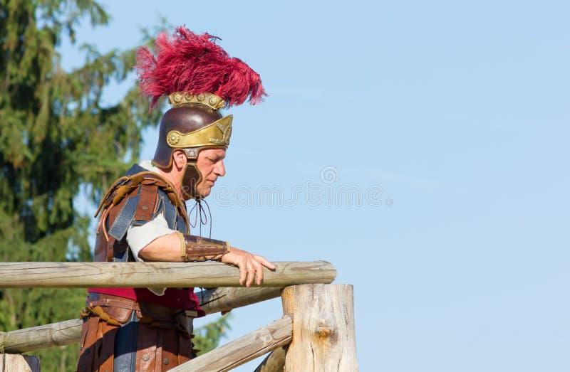 Αρχαίος ρωμαϊκός διοικητής στοκ εικόνες