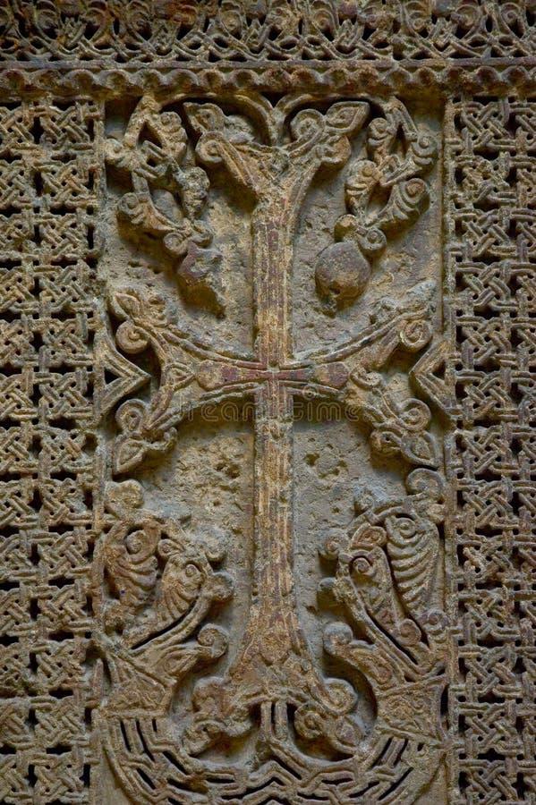 αρχαίος σταυρός στοκ εικόνες