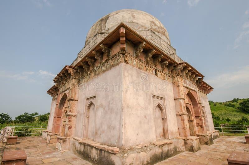 Αρχαίος τάφος Ινδία στοκ εικόνα
