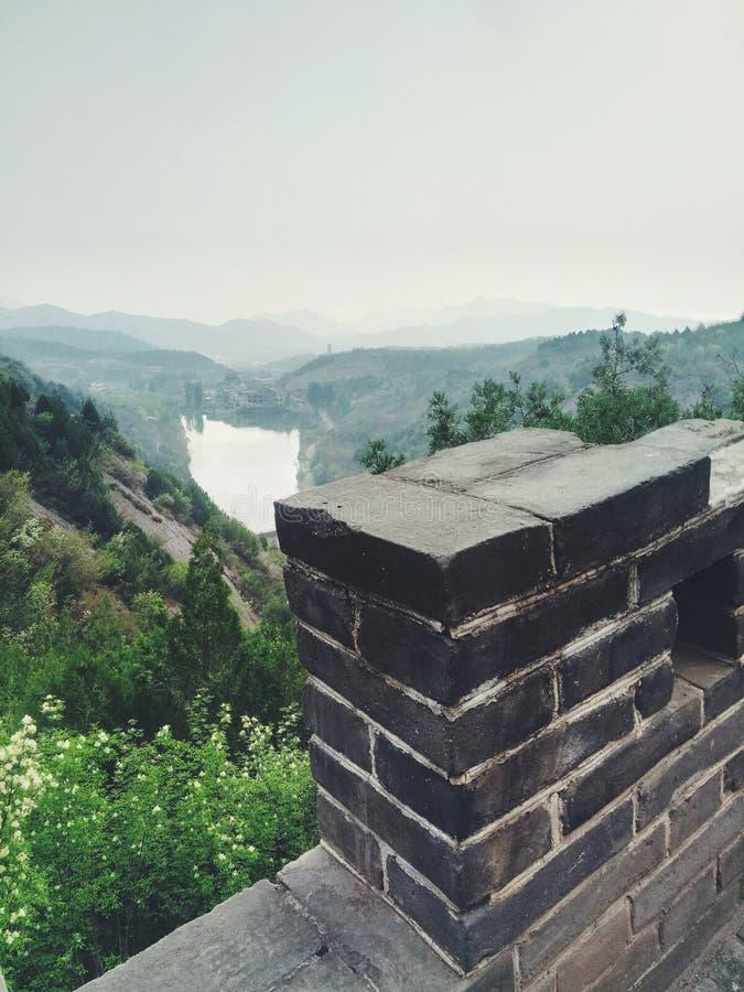 Αρχαίος το Σινικό Τείχος της Κίνας στοκ φωτογραφίες