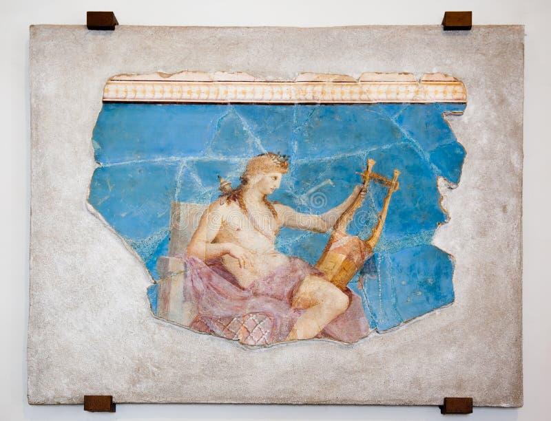 αρχαίος χρωματίζοντας Ρωμαίος στοκ φωτογραφίες