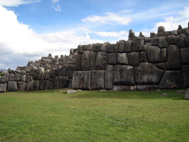 αρχαίος sacsayhuaman στοκ φωτογραφίες με δικαίωμα ελεύθερης χρήσης