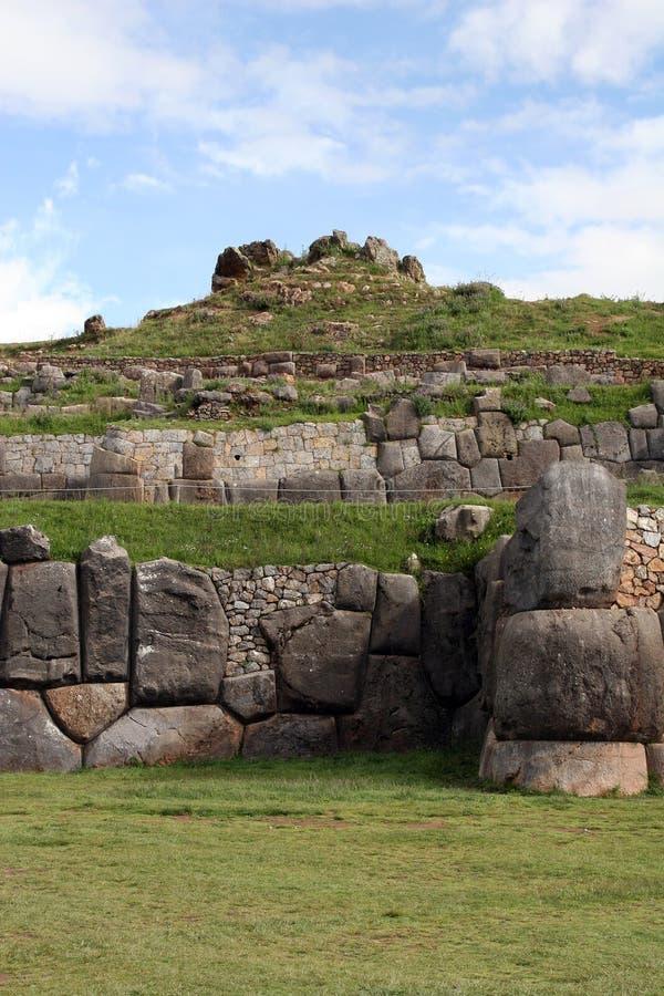 αρχαίος sacsayhuaman στοκ εικόνες με δικαίωμα ελεύθερης χρήσης
