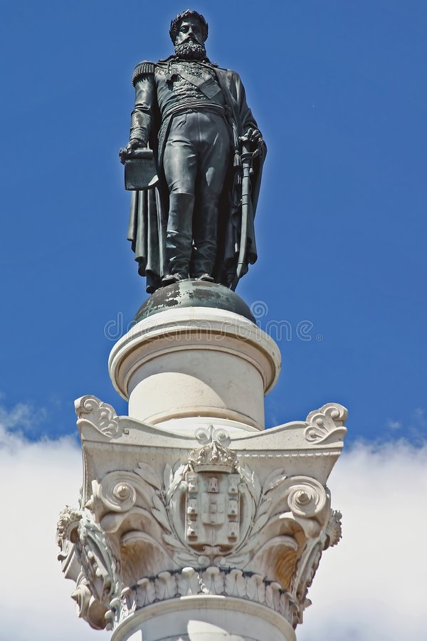 αρχαίο άγαλμα της Λισσαβ στοκ φωτογραφία με δικαίωμα ελεύθερης χρήσης