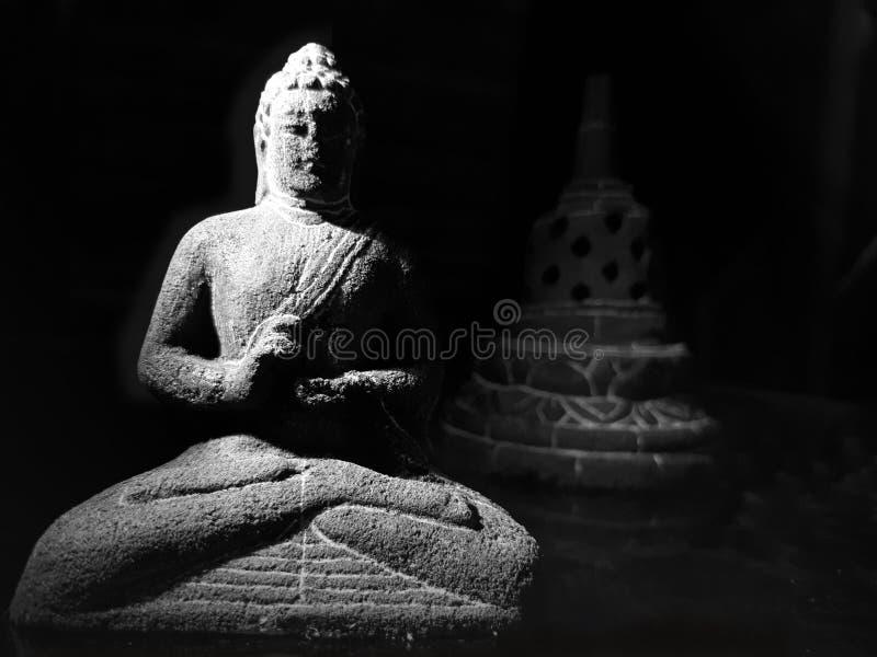 αρχαίο άγαλμα του Βούδα στοκ εικόνες με δικαίωμα ελεύθερης χρήσης