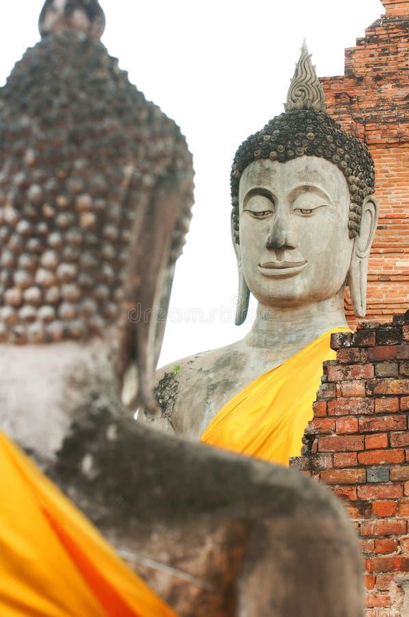 Αρχαίο άγαλμα του Βούδα στοκ εικόνα με δικαίωμα ελεύθερης χρήσης