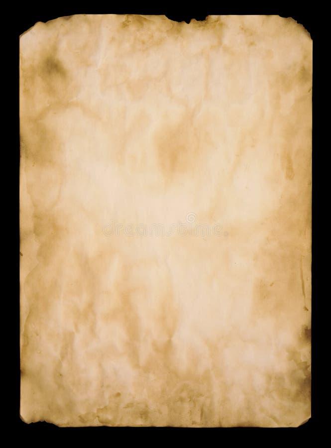 αρχαίο έγγραφο στοκ εικόνα