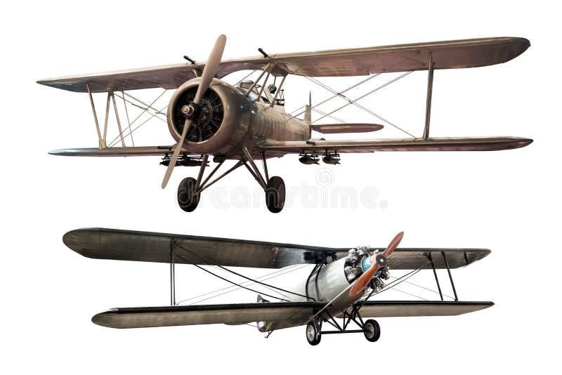 Αρχαίο αεροπλάνο στοκ εικόνα με δικαίωμα ελεύθερης χρήσης
